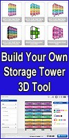 Build Your Own Storage Tower Interactive 3D Tool