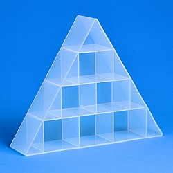 Small pyramid organiser tray 6