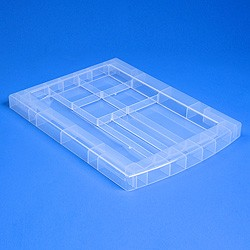 Storage tower stationery tray top