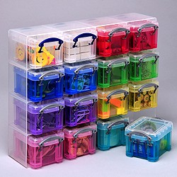 0,14 Liter Really Useful Organizer Set