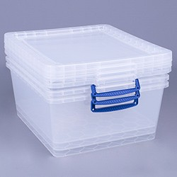 17.5 litre nestable Really Useful Box (3 pack)