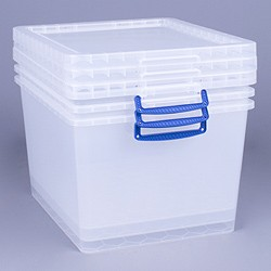 33.5 litre nestable Really Useful Box (3 pack)