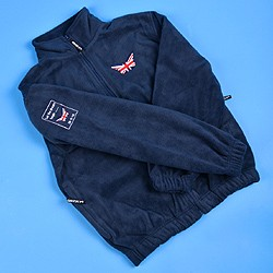 Fleece top (navy blue)