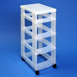Storage tower without 1x4 + 3x9 litre Really Useful Boxes