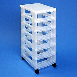 Storage tower WITHOUT 6x4 litre Really Useful Boxes