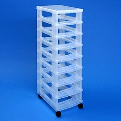 Storage tower WITHOUT 8x4 litre Really Useful Boxes